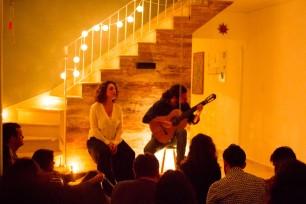 """Som Lá em Casa - """"Parcerias"""" - Irene Atienza e Douglas Lora"""